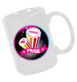 official Brighton Pride Logo Mug Mug