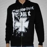official Agnostic Front Spraypaint Black Hoodie Zip