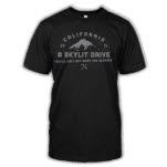official A Skylit Drive Mountain Black T-Shirt