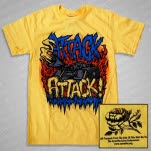 official Attack Attack Tank Yellow T-Shirt