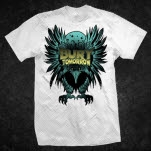 official Bury Tomorrow Griffin White T-Shirt