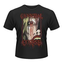 official Cannibal Corpse Face T-Shirt