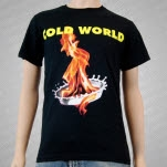 official Cold World Flame Black T-Shirt