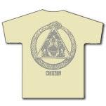 official Coliseum Snake Skull Natural T-Shirt