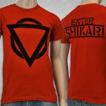 official Enter Shikari New Logo Red T-Shirt