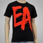 official eXPLORe Apparel EA Red Black T-Shirt