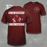 official Fit For A King Live Shot Maroon T-Shirt