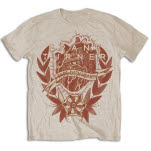 official Frank Turner Tape Deck Heart T-Shirt