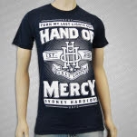 official Hand Of Mercy Last Lights Navy T-Shirt