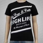 official In Fear And Faith Faith T-Shirt