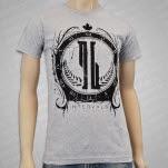 official Intervals Crest Heather Grey T-Shirt