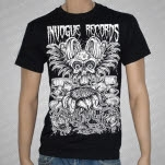 official inVogue Records Sunflower Black T-Shirt