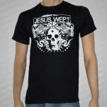 official Jesus Wept Shows Over Black T-Shirt