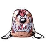 official Looney Tunes Taz Big Face Bag