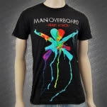 official Man Overboard Heart Attack Black T-Shirt