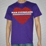 official Man Overboard Girls Like You Purple T-Shirt