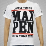 official Maximum Penalty 86 White T-Shirt