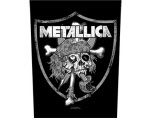 official Metallica Raiders Skull Giant Back Patch