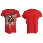 official Miami Ink Red T Shirt Angel T-Shirt