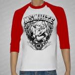 official MSWHITE Bull RedWhite Baseball T-Shirt