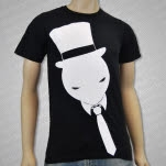 official Muzzy Tie Guy Black T-Shirt