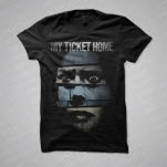 official My Ticket Home Creep Black T-Shirt
