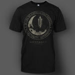 official Nightmares Moon Black T-Shirt