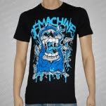official Of Machines Reaper Black T-Shirt
