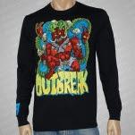 official Outbreak Demon Black Long Sleeve Shirt