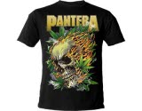 official Pantera Leaf Skull T-Shirt