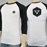 official Protest the Hero Volition Black Baseball T-Shirt