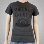official Serpents Northern Discomfort Charcoal T-Shirt