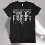 official Shreddy Krueger Snake Black T-Shirt