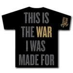 official Sleeping Giant War Black T-Shirt