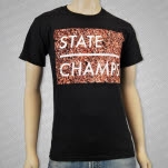 official State Champs Floral Black T-Shirt