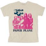 official Status Quo Paper Plane T-Shirt