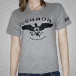 official Terror Eagle Athletic Gray T-Shirt