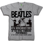 official The Beatles Prince of Wales Theatre T-Shirt