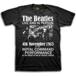 official The Beatles Live And in Person T-Shirt