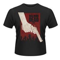 official The Walking Dead Revolver T-Shirt