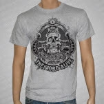 official The Word Alive Skull Heather Gray T-Shirt
