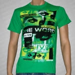 official The Word Alive Vibrations Green T-Shirt