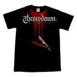 official Throwdown Bloody Neck T-Shirt