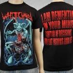official Whitechapel I Dementia Black T-Shirt