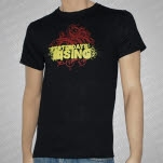 official Yesterdays Rising Fancy Black T-Shirt