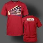 official ZTT Records 30 Red T-Shirt
